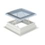 Finestra tetti piani EFC  Alla finestra per tetti piani per evacuazione fumo CSP é premontato fisso il telaio di estensione con l'altezza di 160 mm, per un'altezza complessiva di 310 mm.