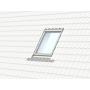 Profiset inkl. EDJ / BDX / BFX 66 cm x 98 cm Profili in rame per materiali di copertura profilati fino a 90 mm Montaggio profondità (linea blu)