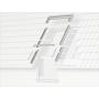 Raccordo (finestra + VIU/VFE) 94 cm x 160 cm Profili in rame per materiali di copertura profilati fino a 90 mm Montaggio profondità (linea blu)
