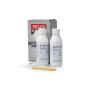 Set di cura per finestre in legno laccate bianche e trasparente Contenuto: 200 ml detergente speciale, 200 ml prodotto per cura vernice et  materiali ausiliari